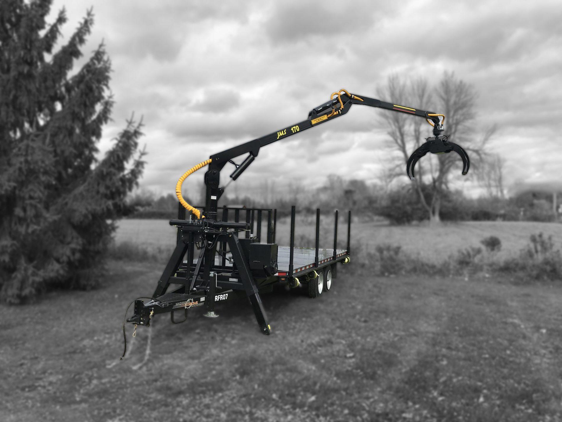 jms 170 log loader and Trailer model rfr07