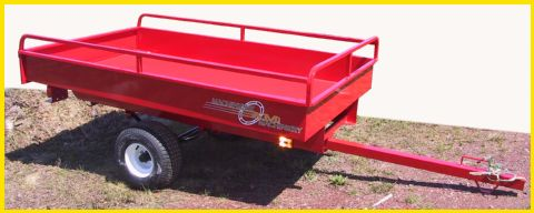 900r atv argo small tractor forestry log loader trailer with box