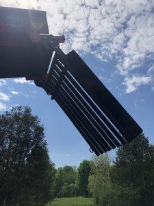 Trash Rack for Conveyor